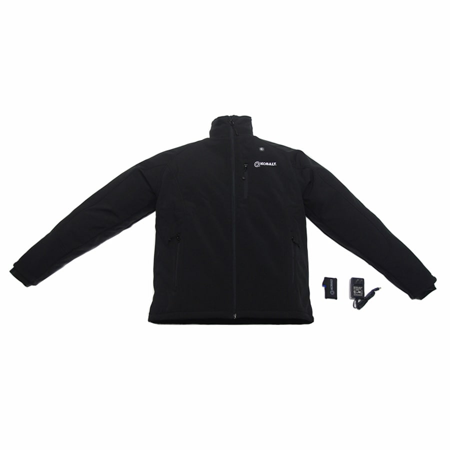 Kobalt Large Black/Woven Lithium-Ion Heated Jacket