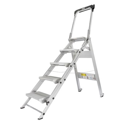 Terrific Contractor Series Step Stool 6 5 Ft Aluminum Type 1A 300 Lbs Capacity Step Ladder Camellatalisay Diy Chair Ideas Camellatalisaycom