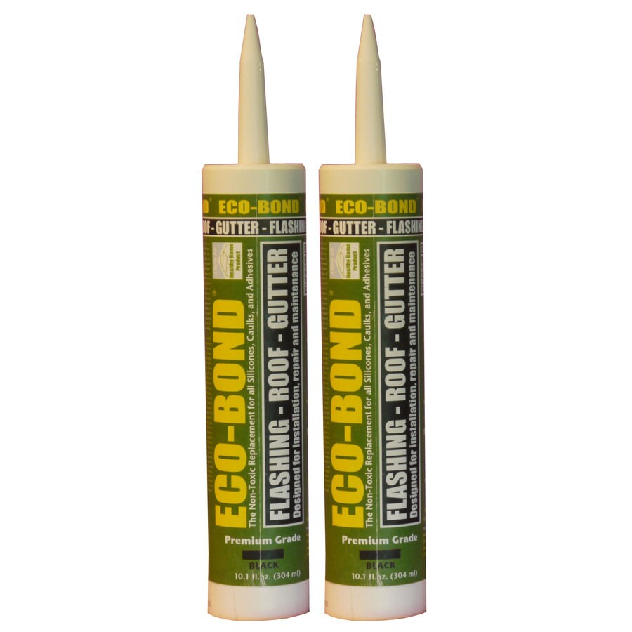 Eco-Bond -Pack 20.2-oz Black  Paintable Caulk