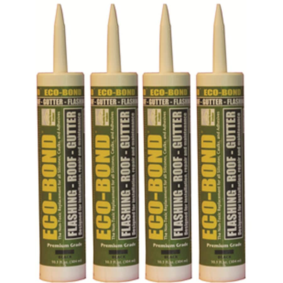 Eco-Bond 40.4-oz Black Paintable Specialty Caulk