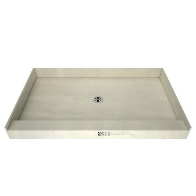 Redi Base Made For Tile Molded Polyurethane Shower Base 42 in W x