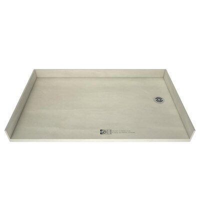 Redi Free Made For Tile Molded Polyurethane Shower Base 37 in W x