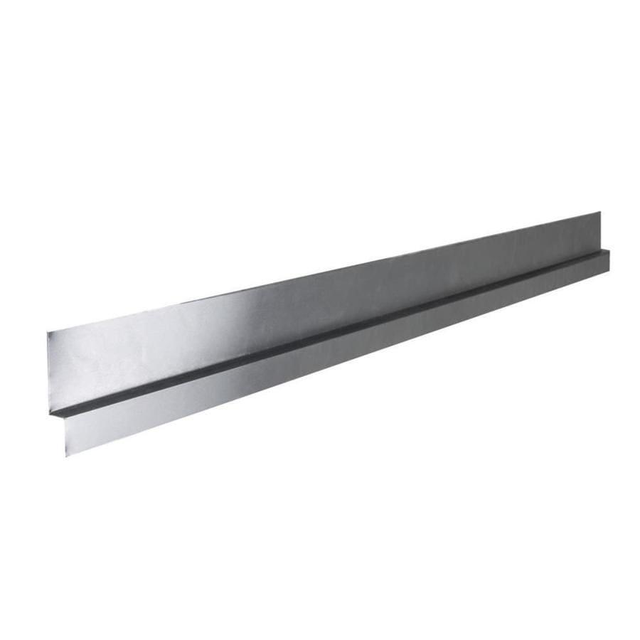 Tile Ready 0.5-in x 48-in x 16-in Aluminum Z Flashing