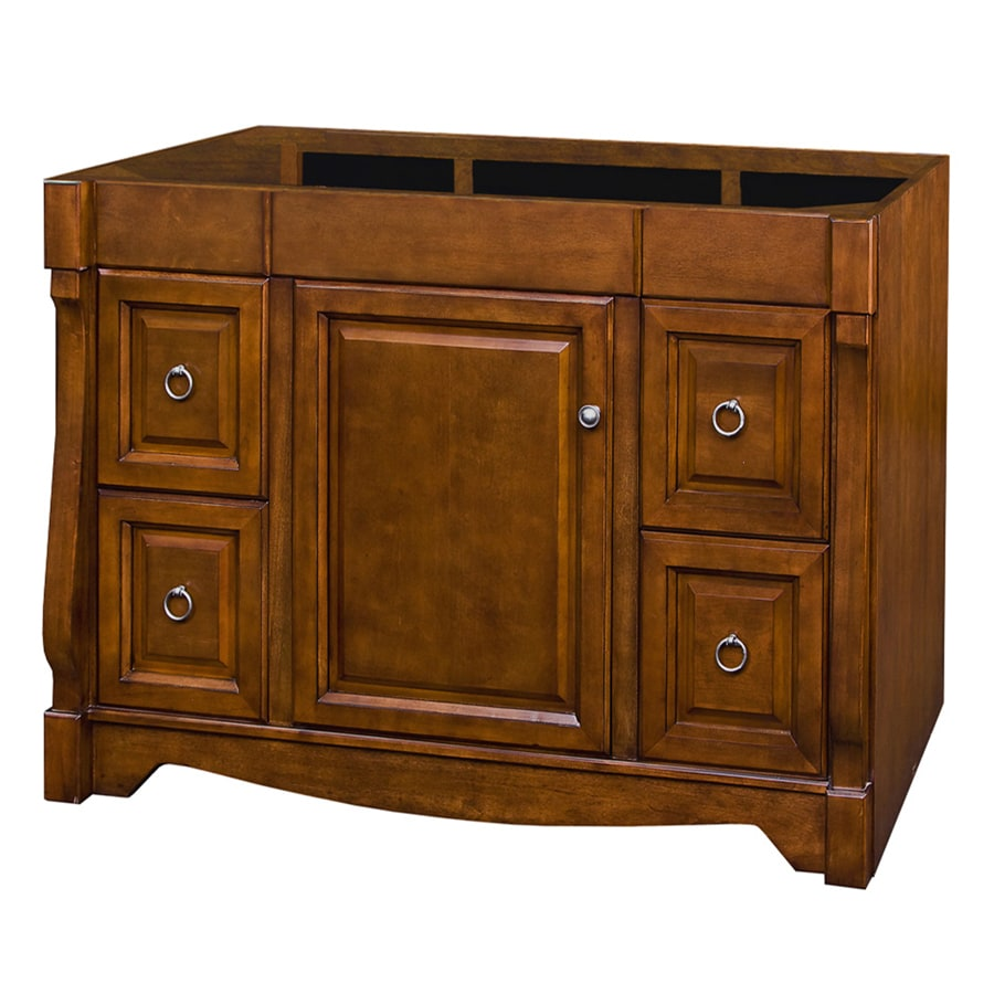 allen + roth Caladium Cherry Bathroom Vanity (Common: 48-in x 21-in; Actual: 48-in x 21.5-in)