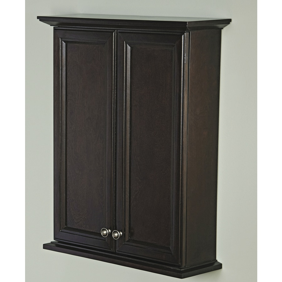Allen + roth Moxley 24-in x 30-in Surface Medicine Cabinet ...