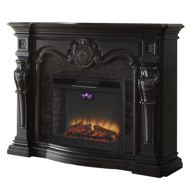 Black Fan Forced Electric Fireplace, 62 Grand Cherry Electric Fireplace Reviews
