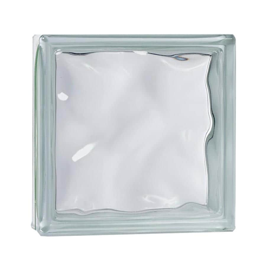 redi2set glass block common 8 in h x 8 in w x - Glass Blocks Lowes