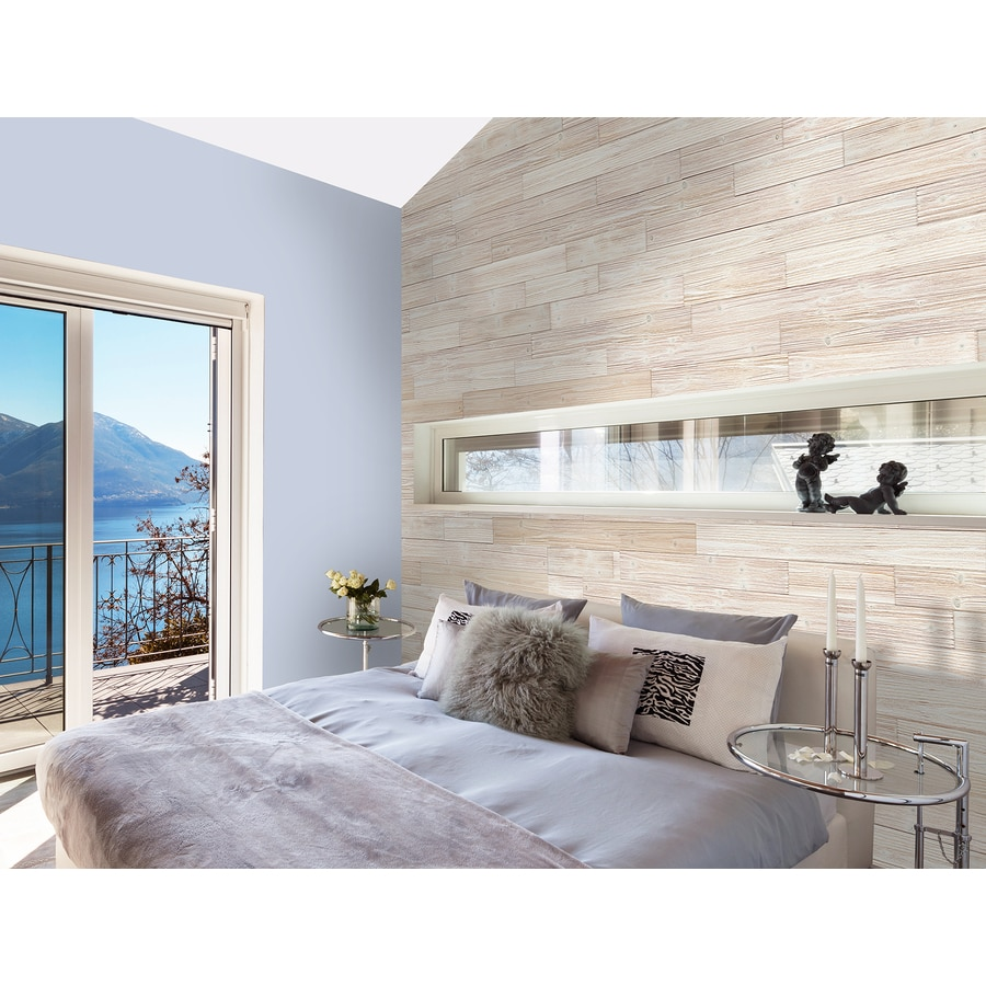 Design Innovations Reclaimed Ship-Lap 5.375-in x 4-ft Sun Bl-Eached Pine Wall Plank