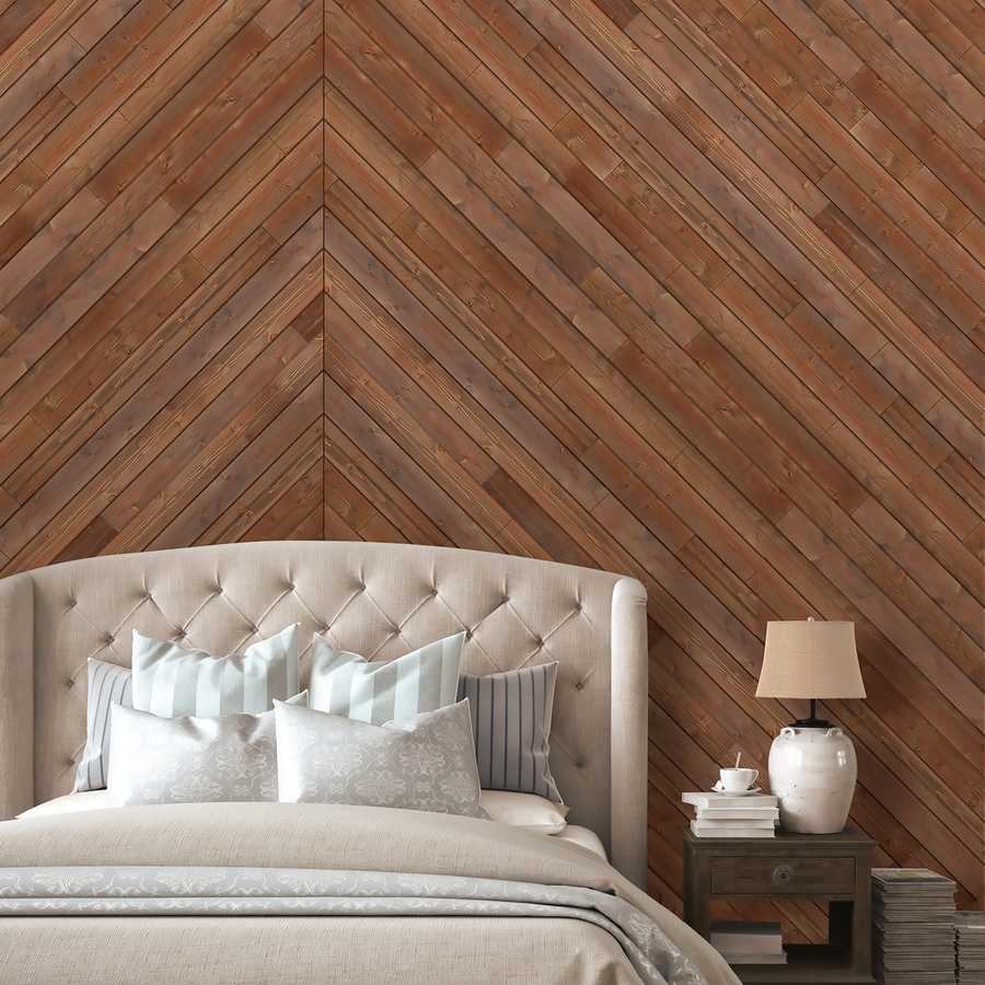 Design Innovations Reclaimed 3.5-in x 4-ft Aged Cedar Cedar Wood Wall Plank - Shop Wall Panels & Planks At Lowes.com