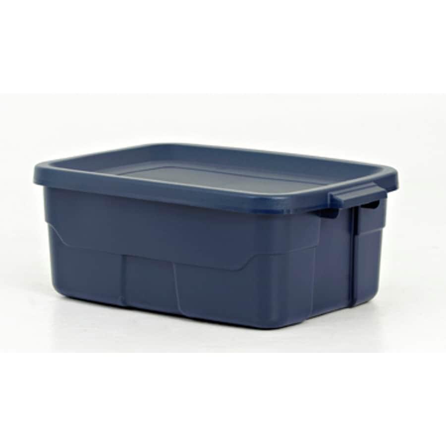 Centrex Plastics LLC Plastic 10 Gallon Rugged Tote Storage Box  sc 1 st  Loweu0027s & Shop Centrex Plastics LLC Plastic 10 Gallon Rugged Tote Storage Box ...