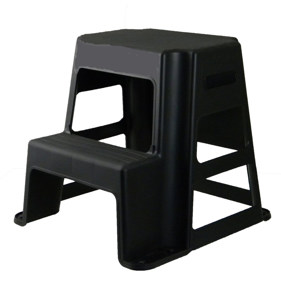 Centrex Plastics Llc 2 Step Plastic Step Stool At Lowes Com