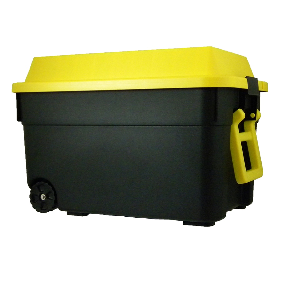 Centrex Plastics Llc Commander 25 Gallon Tote With Latching Lid At
