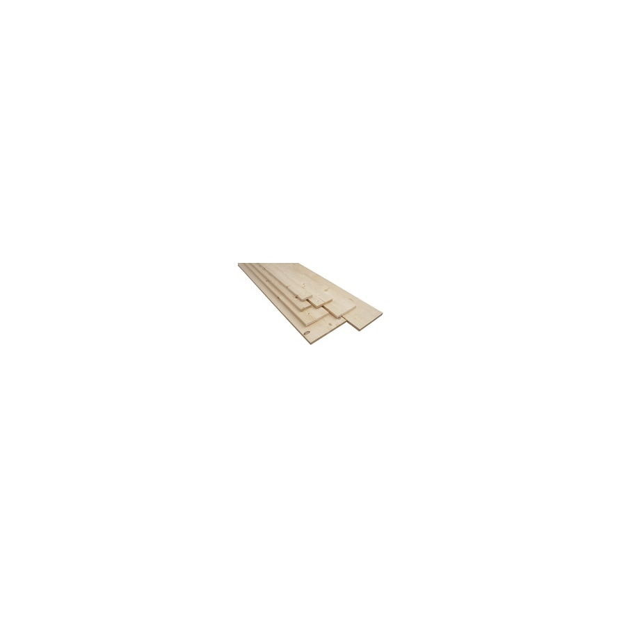 (Common: 1-in x 12-in x 4-ft; Actual: 0.75-in x 11.25-in x 4-ft) Eastern White Pine Board