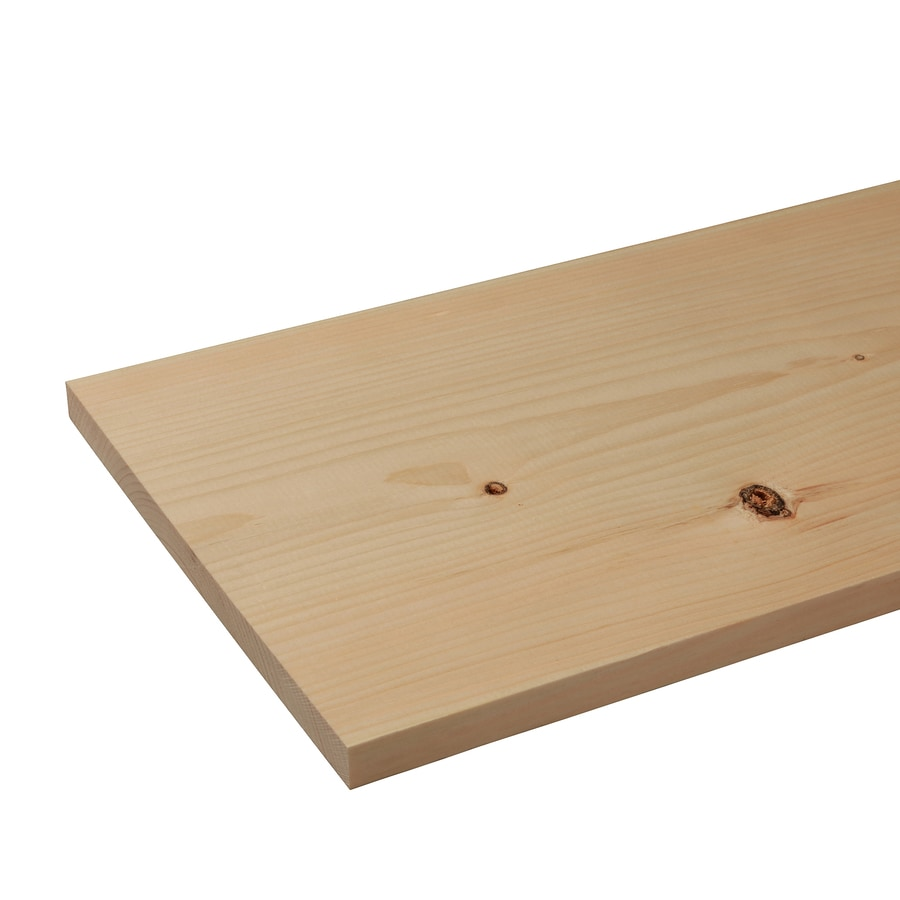Eastern White Pine Board (Common: 1-in x 12-in x 12-ft; Actual: 0.75-in x 11.25-in x 12-ft)