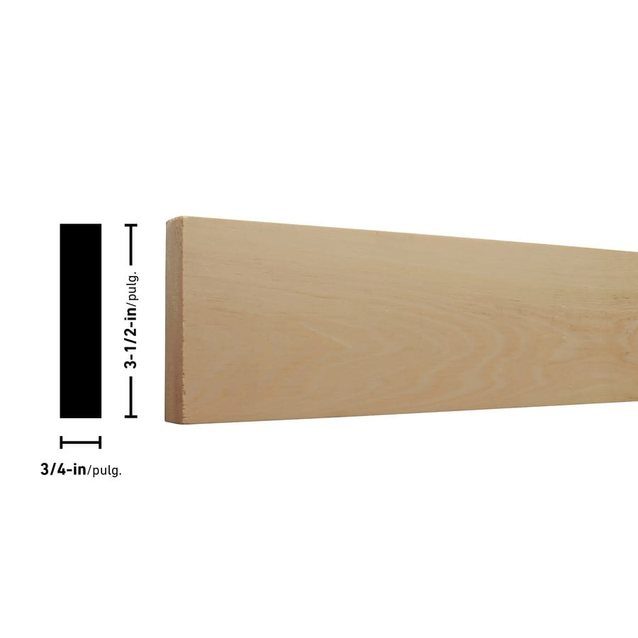 (Common: 1-in x 4-in x 8-ft; Actual: 0.75-in x 3.5-in x 8-ft) Eastern White Pine Board