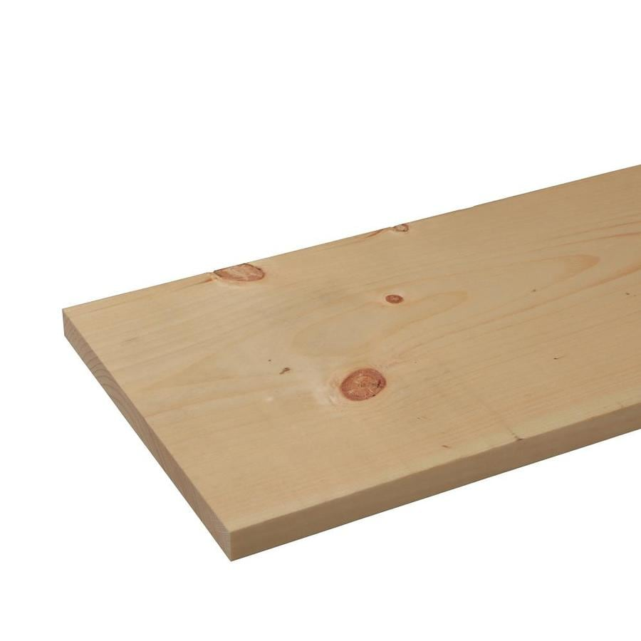 (Common: 1-in x 10-in x 10-ft; Actual: 0.75-in x 9.25-in x 10-ft) Eastern White Pine Board