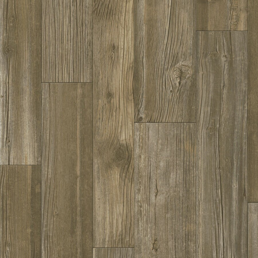 Armstrong Flooring Concerto Premium 12-ft W x Cut-to-Length Rustic Sound Wood-Look Low-Gloss Finish Sheet Vinyl