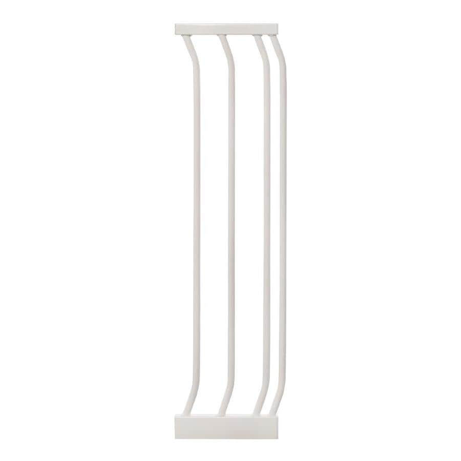 Dreambaby Chelsea Auto-Close 7-in x 29.5-in White Metal Child Safety Gate