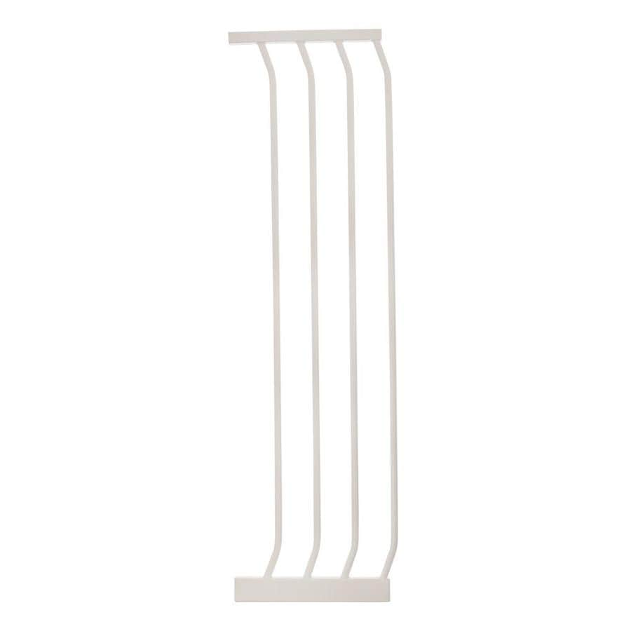 Dreambaby Chelsea Tall Auto-Close 10.5-in x 39.5-in White Metal Child Safety Gate