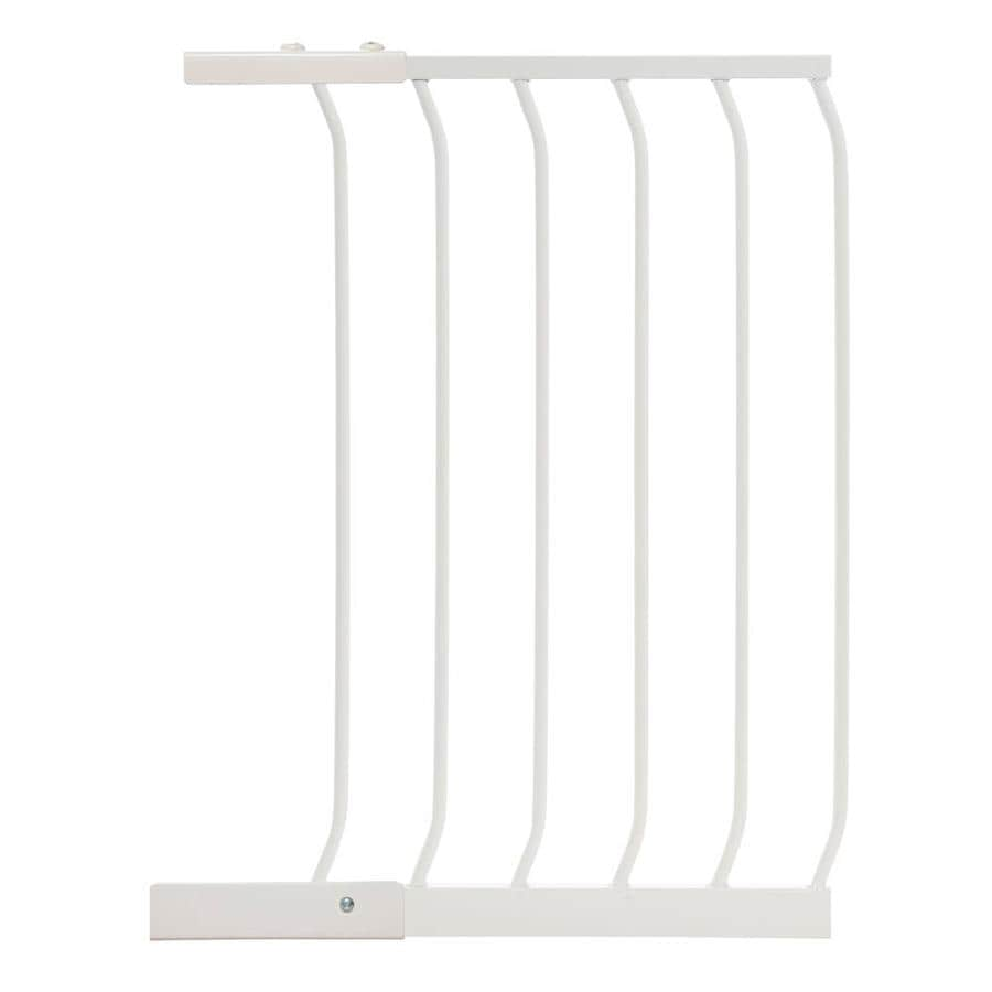 Dreambaby Chelsea Auto-Close 17.5-in x 29.5-in White Metal Child Safety Gate