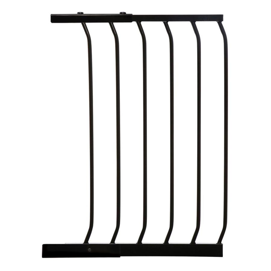 Dreambaby Chelsea Auto-Close 17.5-in x 29.5-in Black Metal Child Safety Gate