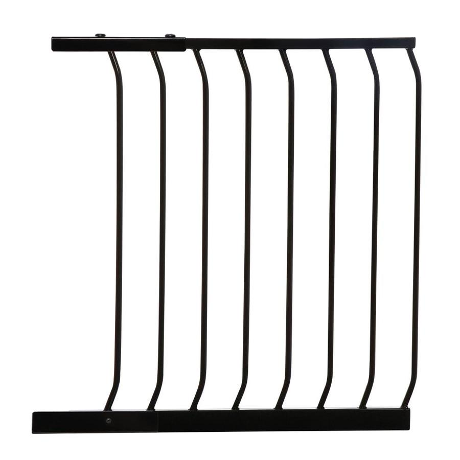 Dreambaby Chelsea Auto-Close 24.5-in x 29.5-in Black Metal Child Safety Gate