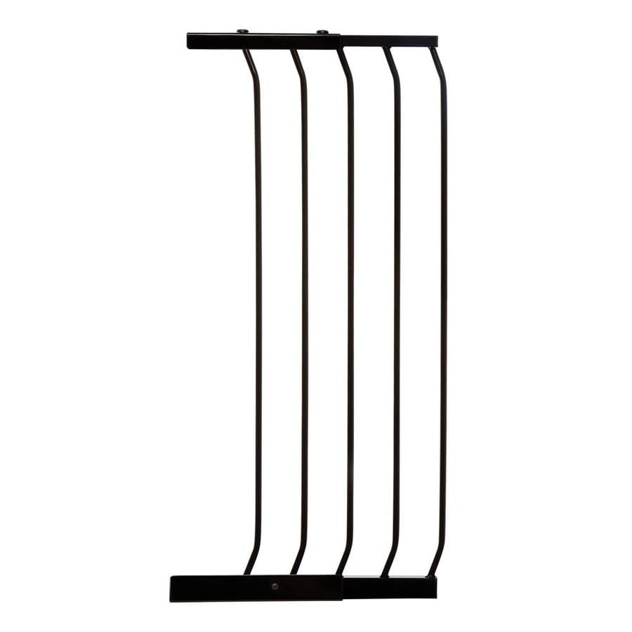 Dreambaby Chelsea Tall Auto-Close 14-in x 39.5-in Black Metal Child Safety Gate
