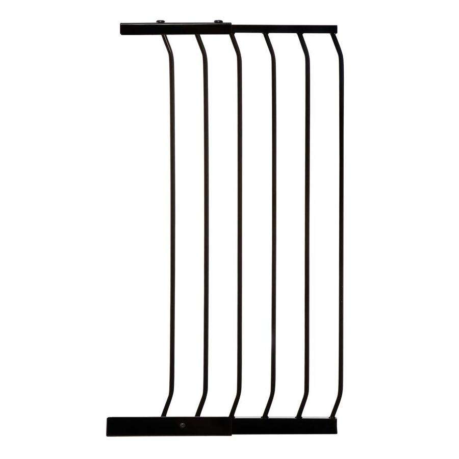 Dreambaby Chelsea Tall Auto-Close 17.5-in x 39.5-in Black Metal Child Safety Gate