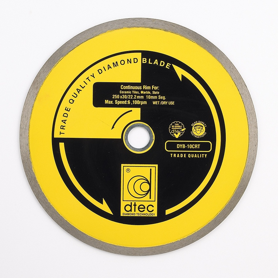 Dtec Classic 10-in 0 Wet or Dry Continuous Circular Saw Blade