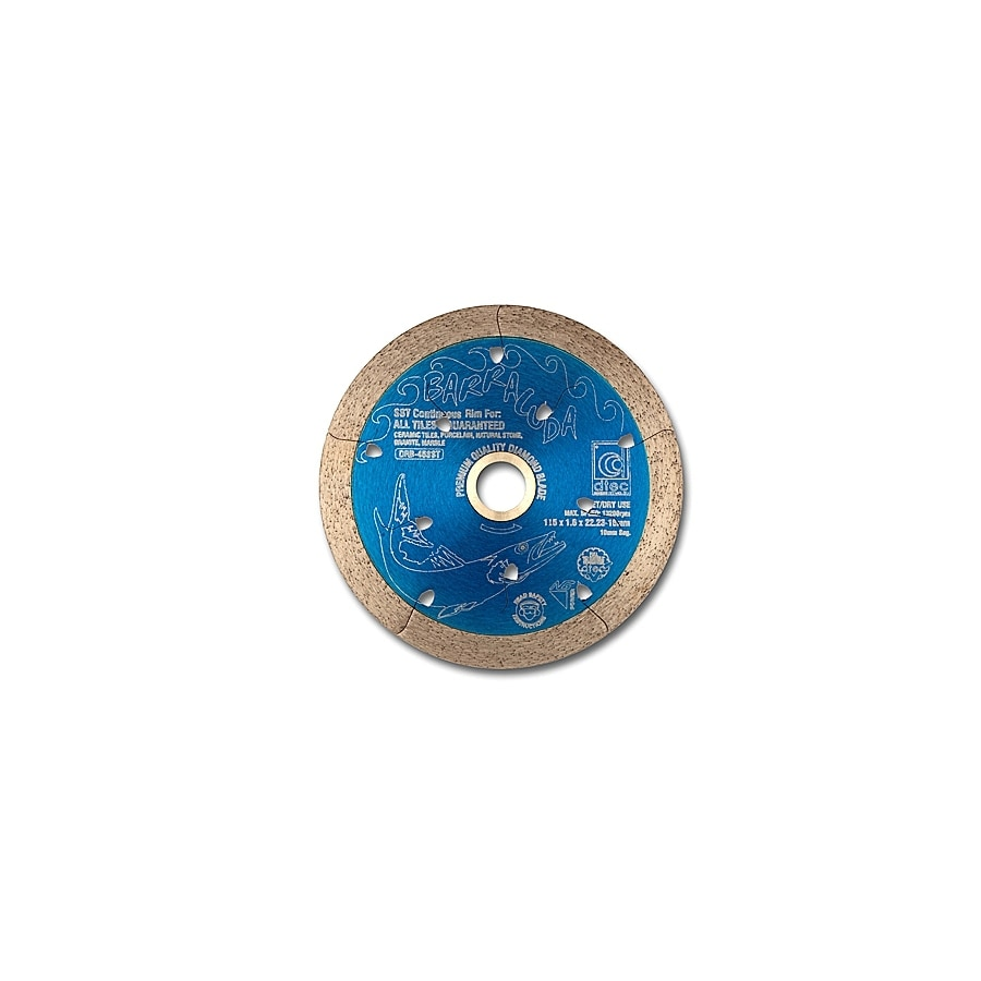 Dtec Classic 4-1/2-in 0 Wet or Dry Segmented Circular Saw Blade