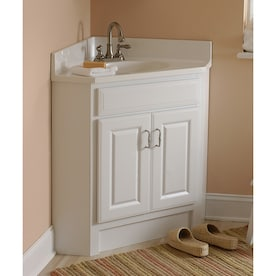 Estate By Rsi 25 Wilmington Corner Vanity With Top Lowe S Inventory Checker Brickseek