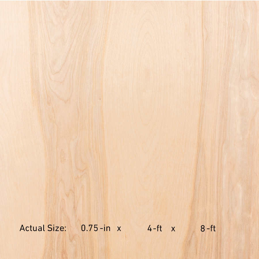 Shop Top Choice 3/4-in HPVA Birch Plywood, Application As