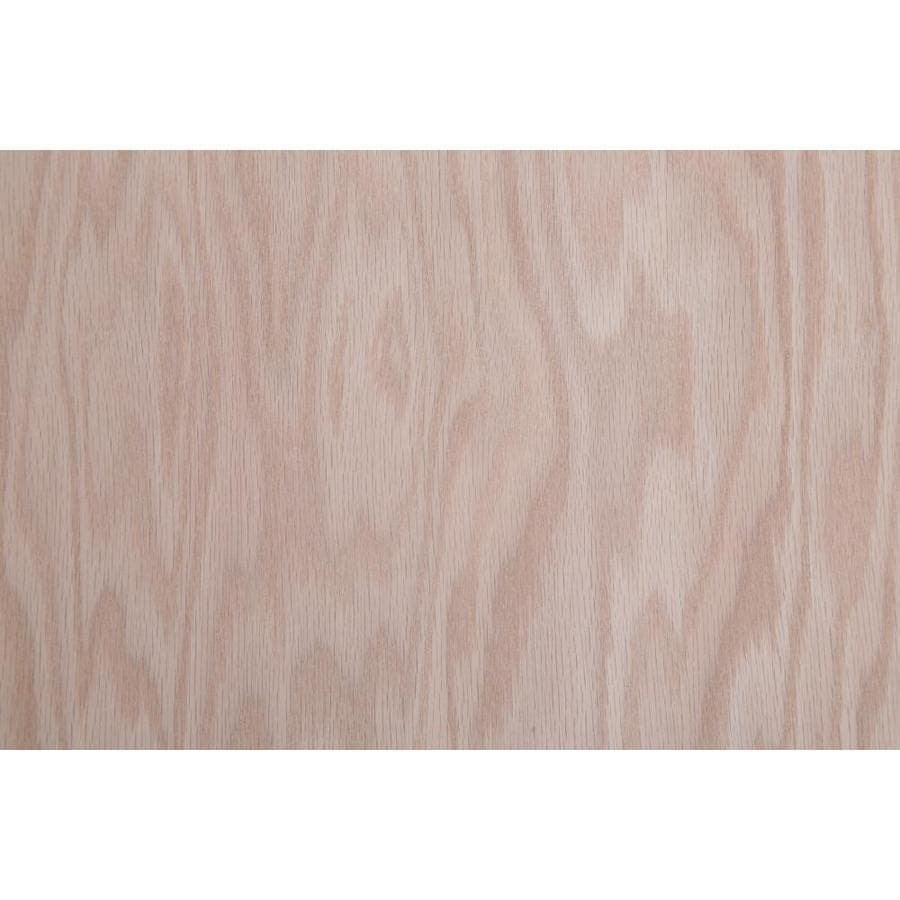 Top Choice 1 2 In Hpva Red Oak Plywood As 4 X