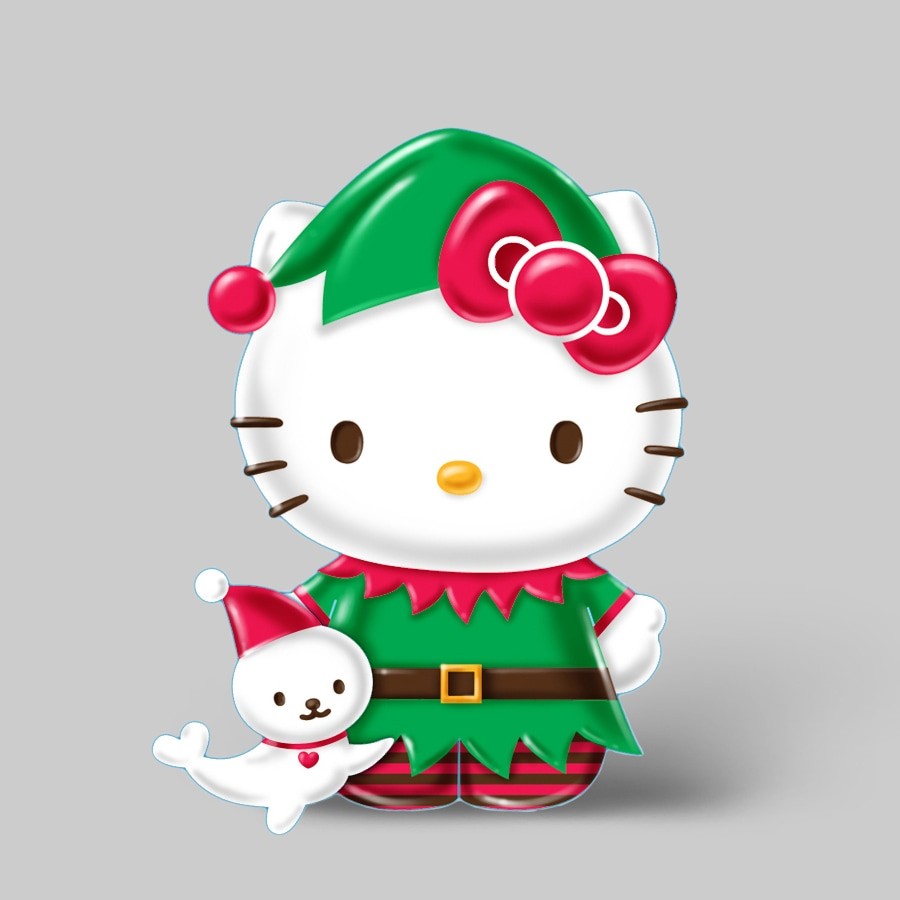 Hello Kitty Hello Kitty Christmas Ornament At Lowes Com