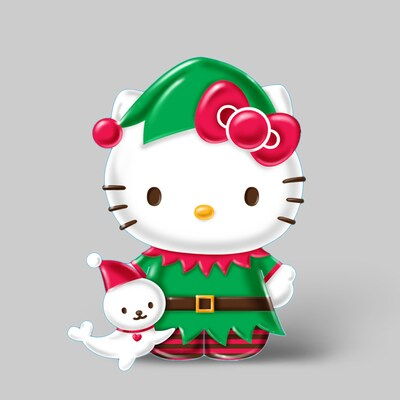 Hello Kitty Christmas.Hello Kitty Hello Kitty Christmas Ornament At Lowes Com
