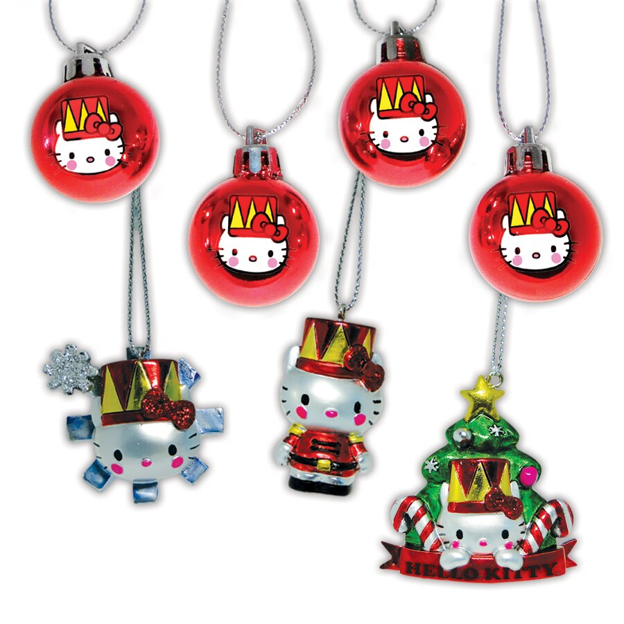 Hello Kitty Ornament Set Lights