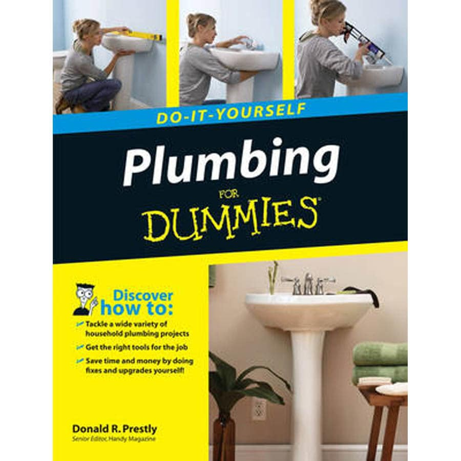Shop do it yourself plumbing for dummies at lowes do it yourself plumbing for dummies solutioingenieria Choice Image