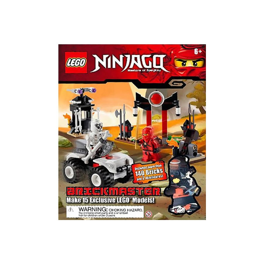 Lego Ninjago Brickmaster