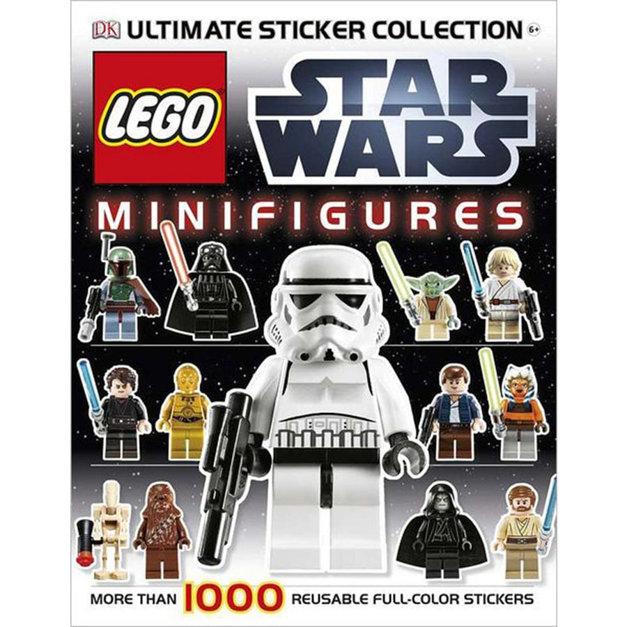 Star Wars Minifigures Ultimate Sticker Collection