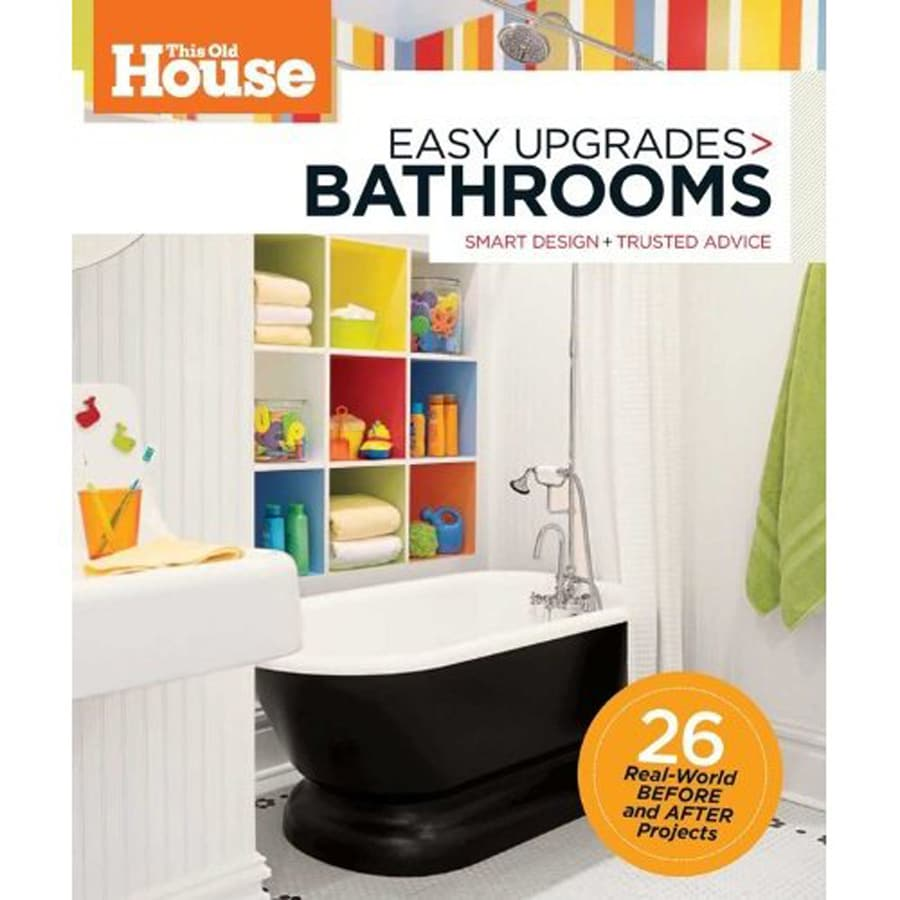 This Old House Easy Upgrades-Bathrooms