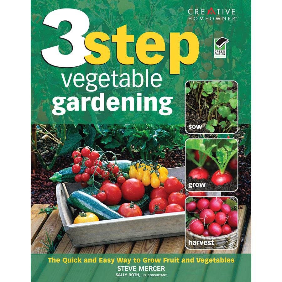 Home Design Alternatives 3-Step Vegetable Gardening