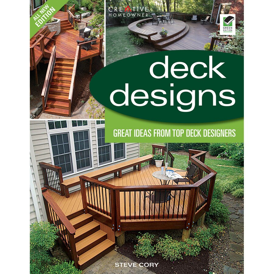Shop home design alternatives deck designs 3rd edition for Home design alternatives