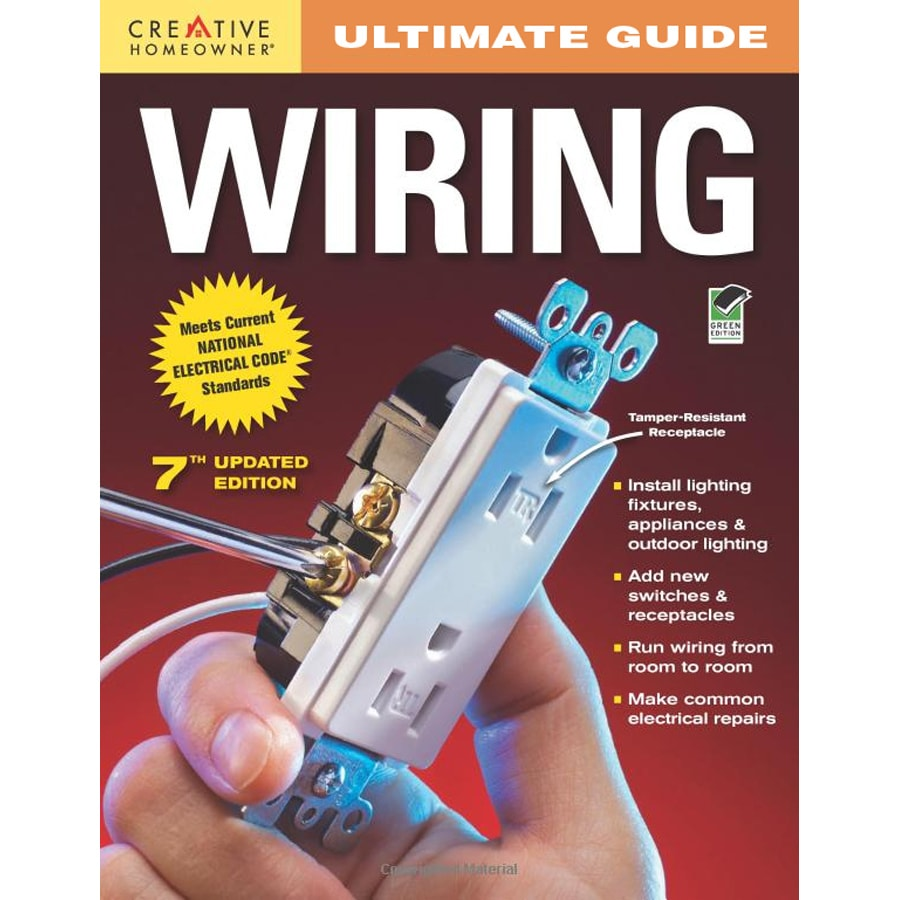 shop ultimate guide to wiring at lowes com rh lowes com home wiring guide book home wiring book pdf