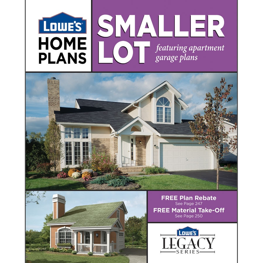 shop smaller lot home plans at lowes com