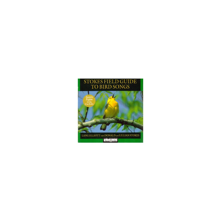 Hachette Book Group 3-Piece Stokes Field Guide To Bird Songs CD Set