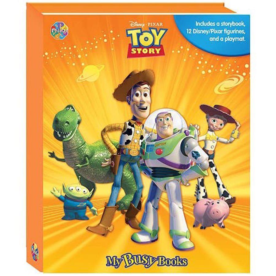 Toy Story My Busy Book