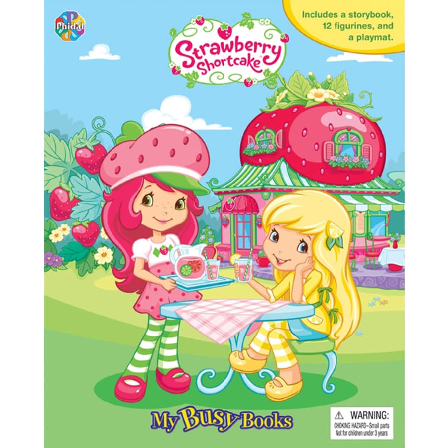 Strawberry Shortcake Busy Book