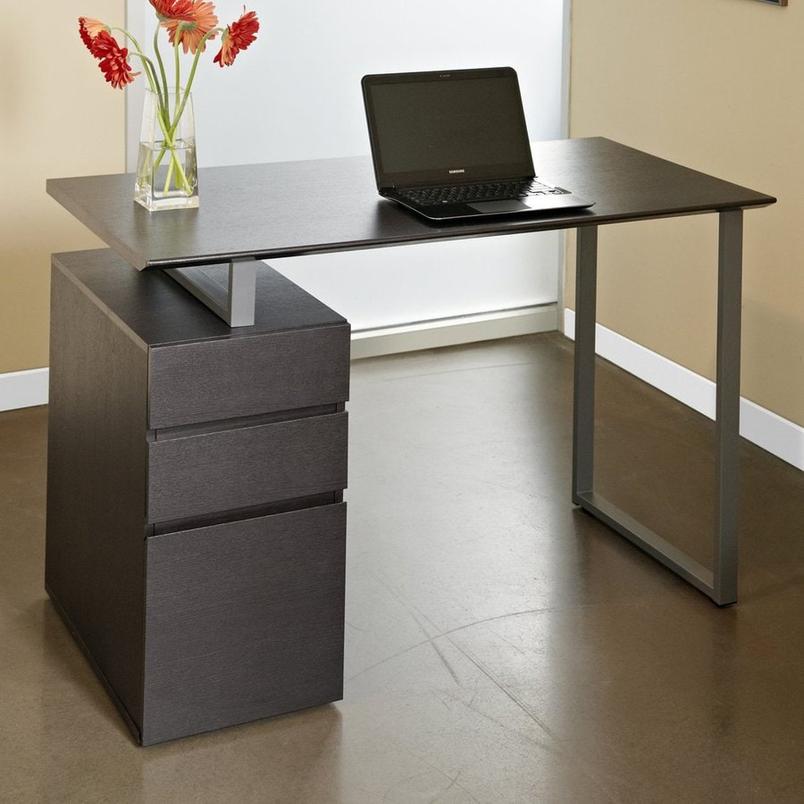 Jesper Office Tribeca Contemporary Espresso Writing Desk