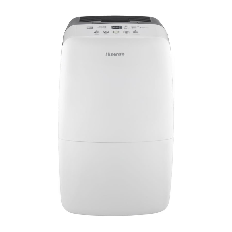 Hisense 50-Pint 2-Speed Dehumidifier with Built-in Pump