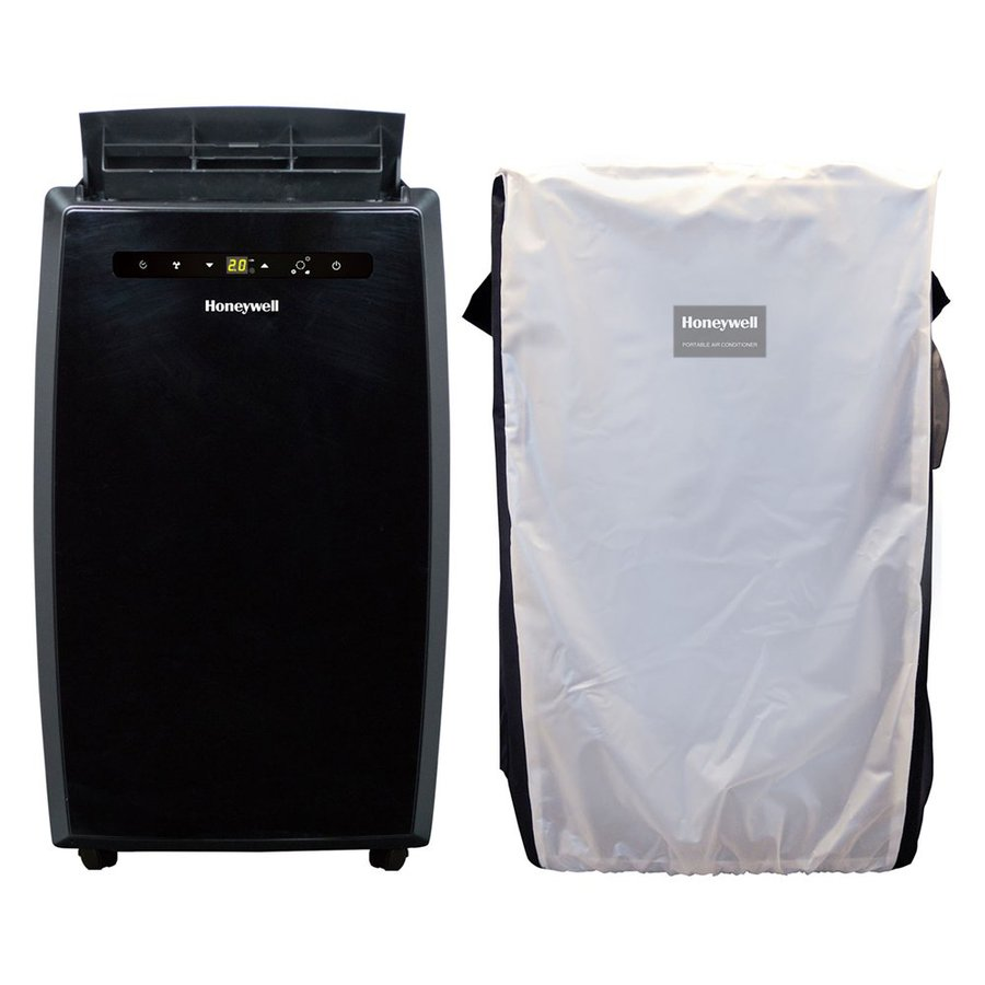 Honeywell 450-sq ft Black Portable Air Conditioner with Cover